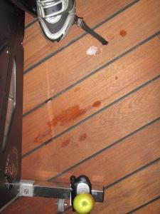 Regnmoln inne under min cykel..